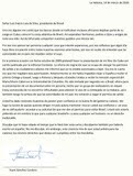 de Yoani para Lula (Carta em espanhol)