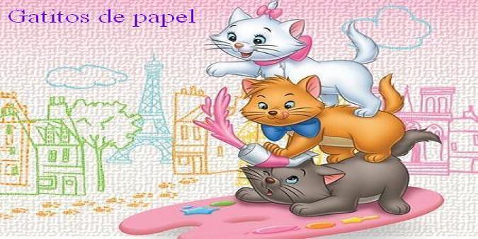 Gatitos de papel