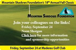 Mountain Shadows Golfing Event
