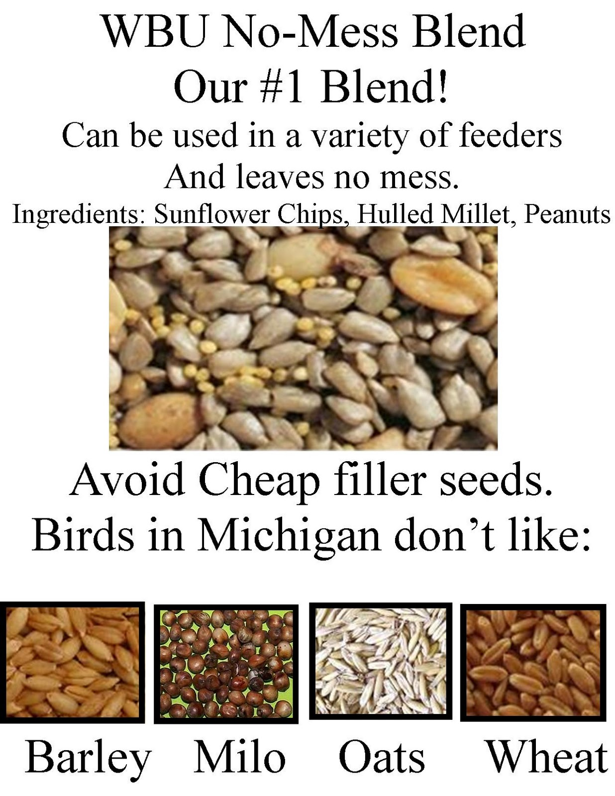 Wild Birds Unlimited: Why pay more for seed at Wild Birds Unlimited?1236 x 1600 jpeg 311kB