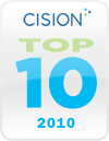 Cision Top 10 UK Teen Literature Blogs 2010