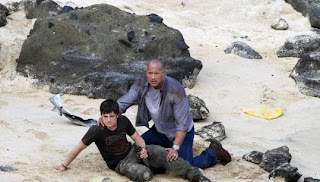 Josh Hutcherson and Dwayne Johnson - Journey 2 The Mysterious Island