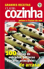 Revista Claudia Peixes e Frutos do Mar