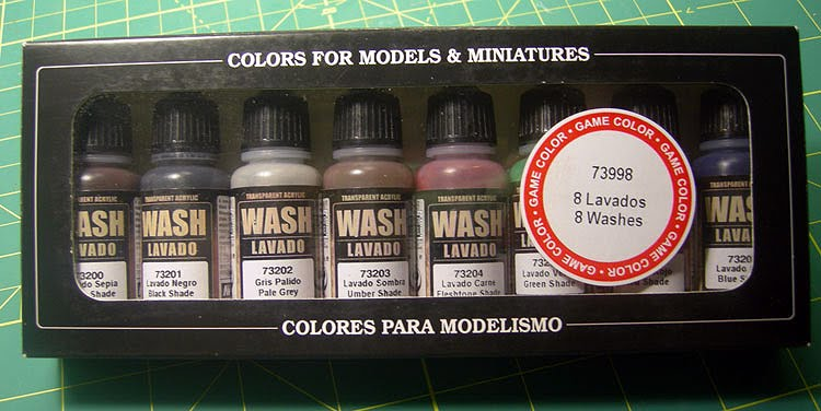 Pronto Floor Wax : Lascannons&Lances: The Great Vallejo Wash Review