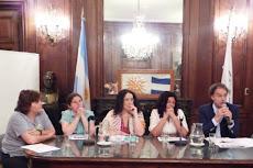 Presentacion del proyecto de ley - con Las madres que luchan contra el paco