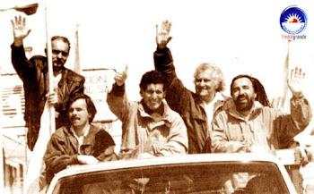 En frente en 1993 -. Frente del Sur + Frente Grande