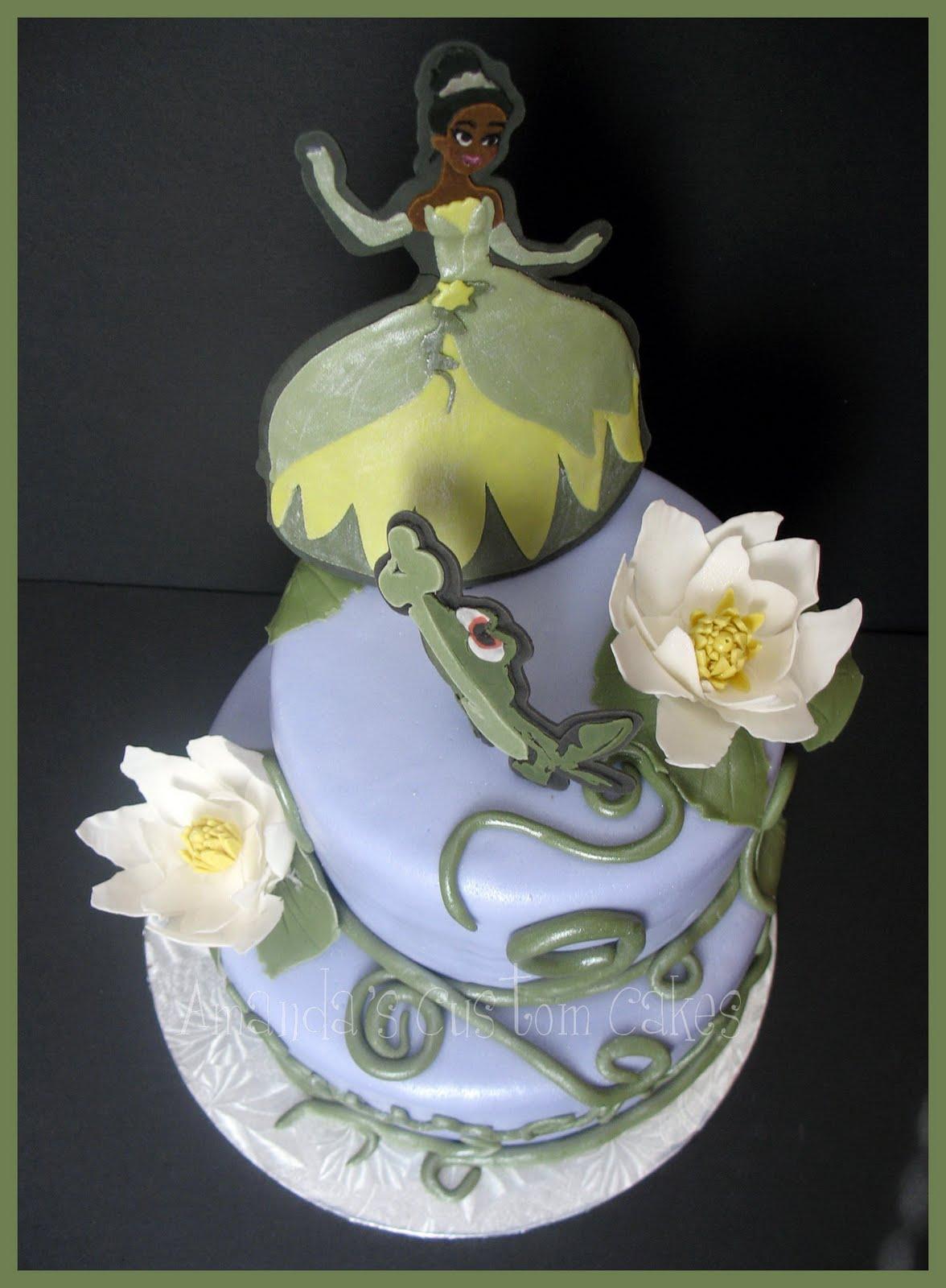 Princess Tiana Cake Images : Amanda s Custom Cakes: Princess Tiana cakes