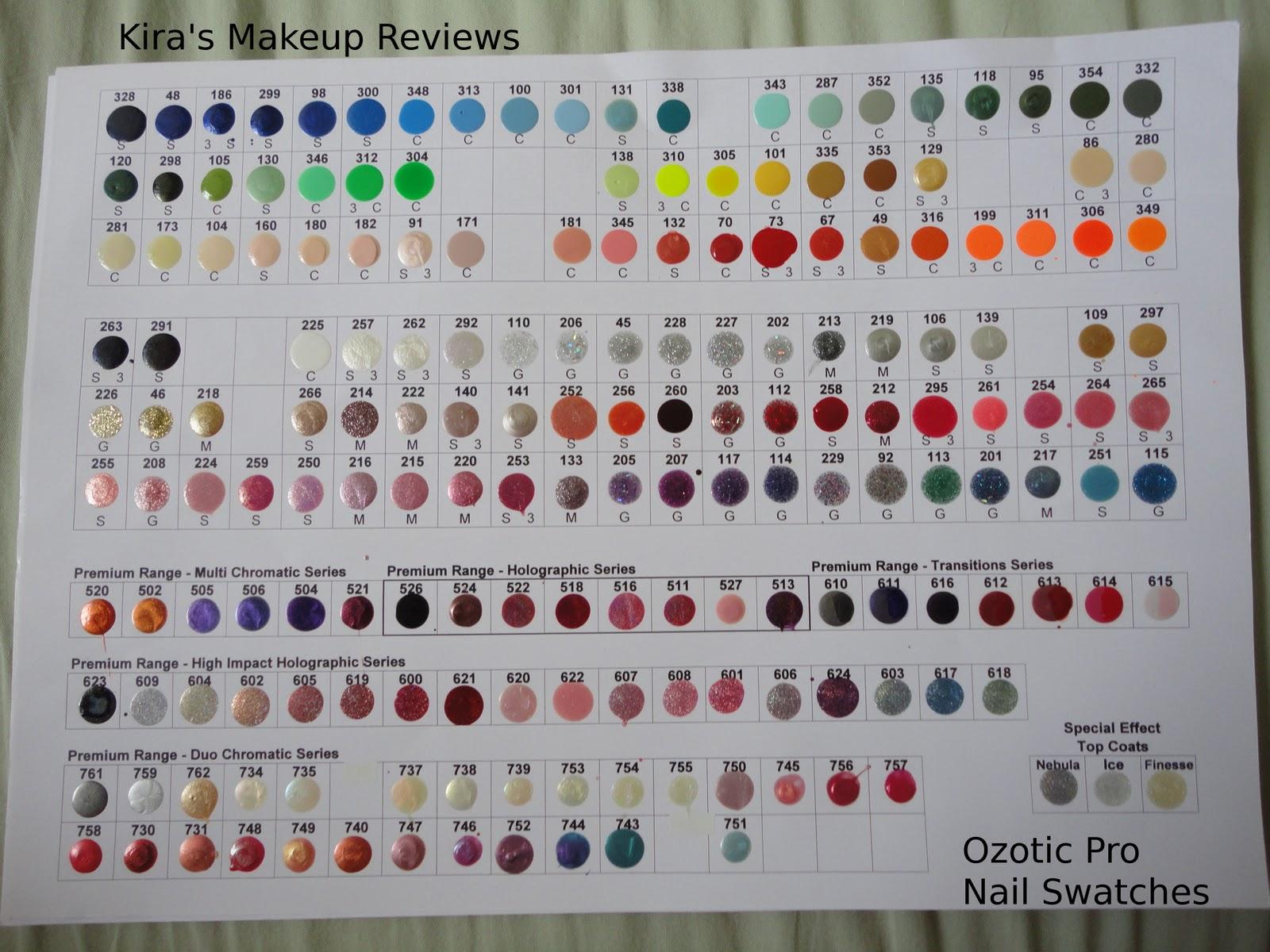 Nexgen Nails Color Chart Nails Gallery
