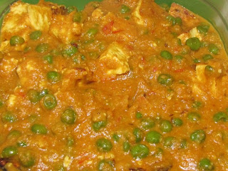Mutter Paneer(Green Pea N Cottage Cheese)