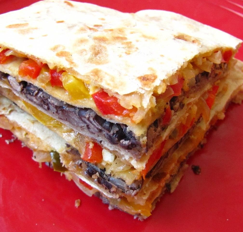 Super Yummy Recipes: Multilayered Quesadilla With Corn Salsa