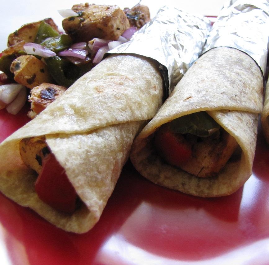 Super Yummy Recipes: Paneer Achari Kati Roll