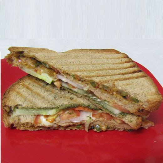 tier sandwich has a unique flavor as it has ingredients like celery 2 Tier Fresh Vegetable Sandwich