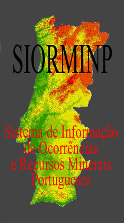 Sistema de Informação de Ocorrências e Recursos Minerais Portugueses
