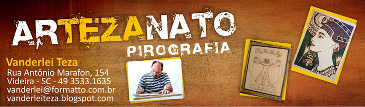 arTEZAnato - Pirografia