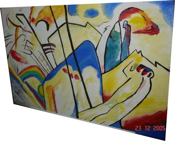 Pintura - Abstrato de Kandinsky