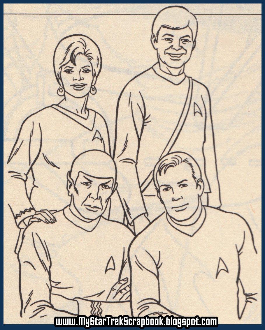 My Star Trek Scrapbook: Star Trek Aliens Coloring Book