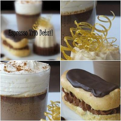 Tartelette: Espresso - Chocolate Trio