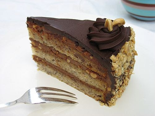 Tartelette: Chocolate Peanut Butter Banana Cake and ...