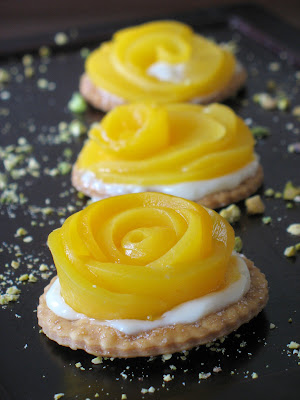 Peach Rose Tartlet