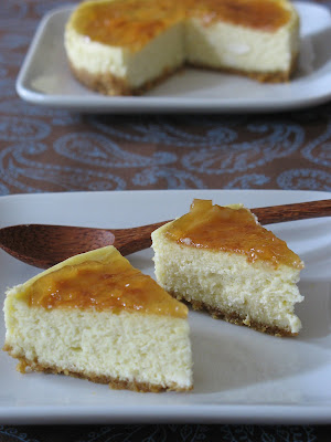 Ginger Cheesecakes with Yuzu