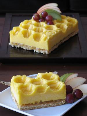 Mango Mousse Pistachio Dacquoise