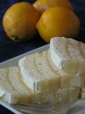 Ricotta Cake With Meyer Lemon Curd