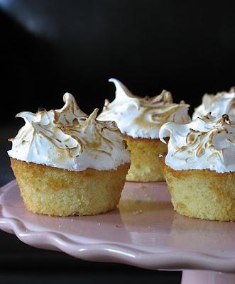 Tartelette: Lemon Lime Meringue Cupcakes