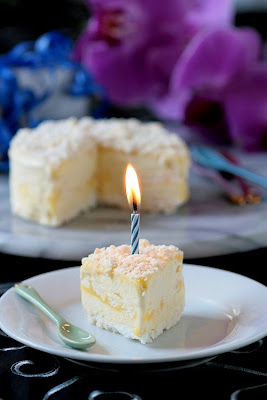 Lemon Meringue Ice Cream Cake -Copyright&#169;Tartelette 2008