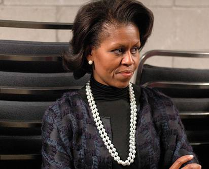 ugly michelle obama pictures. MICHELLE OBAMA: IF SHE IS
