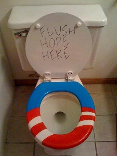 america down the toilet