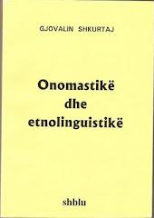ONOMASTIKE DHE ETNOLINGUISTIKE