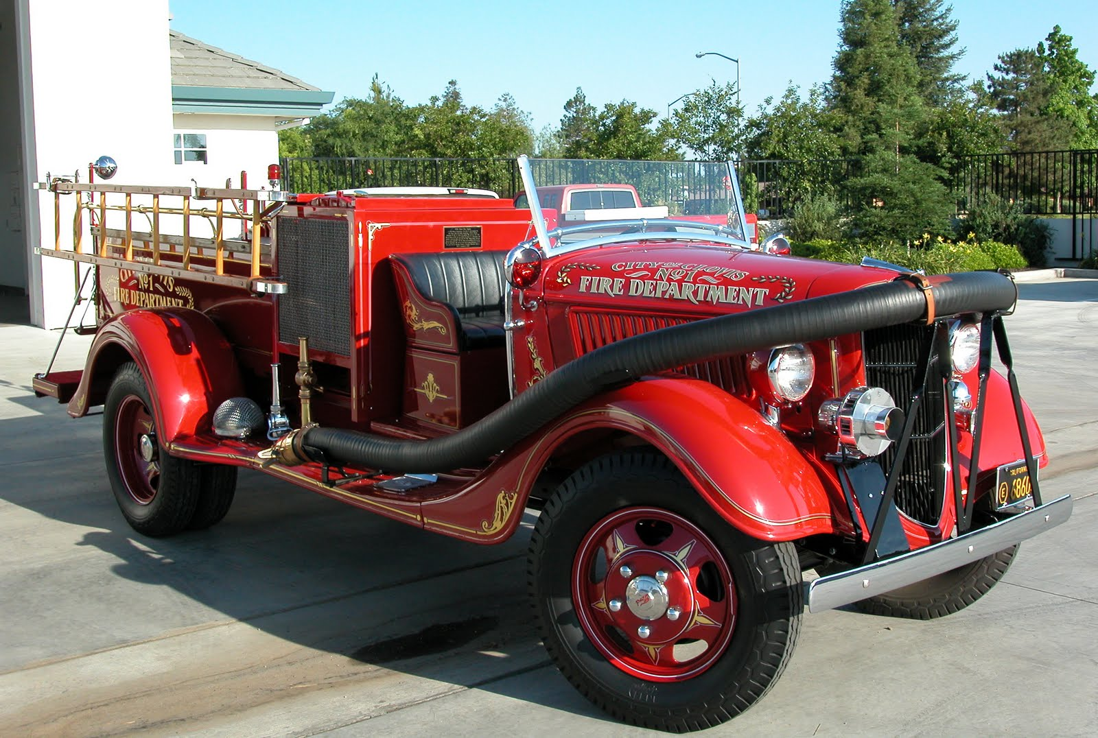 the fire engine - photo #41