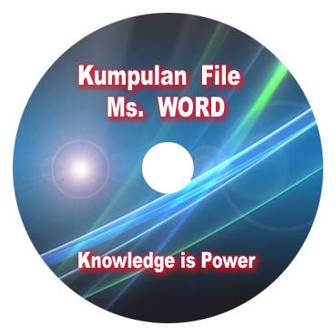 saya ada cd kumpulan file dalam format ms word yang berisi file file 1 ...