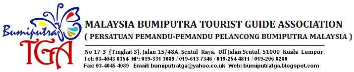 MALAYSIA BUMIPUTRA TOURIST GUIDE ASSOCIATION