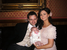 my eldest daughter laura son in law peter and grandaughter eva