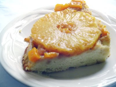Creating Post it Notes: .pineapple-mango upside-down cake.
