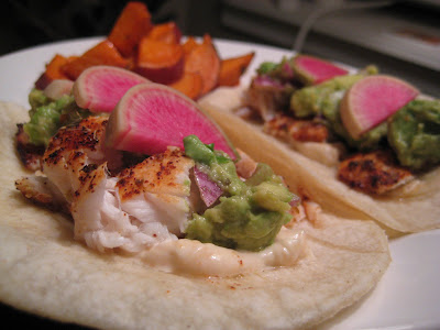 gluten free fish tacos