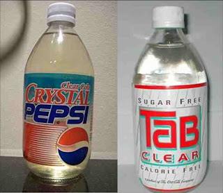 Crystal+Pepsi - El Color del Marketing: usando los colores para vender más
