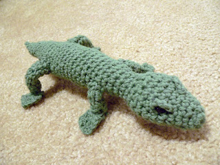 Amigurumi Halloween Free Patterns : Chocolate Covered Yarn: Amigurumi Lizard