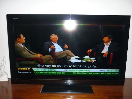 tọa đàmtay ba về 'Phát triển nông nghiệp VN' giữa1 chuyên gia kinh tế Mỹ, TS Đặng Kim Sơn và 1 nhà báo
