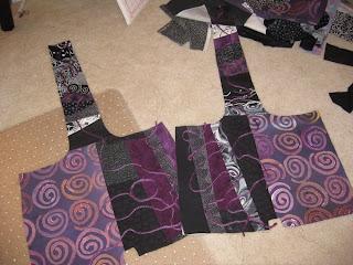 flip and sew panels