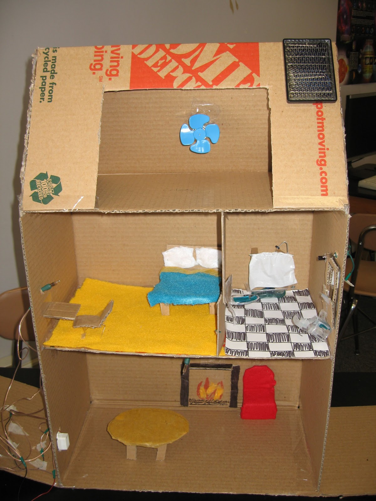 Novak Science Physics Electric House Project