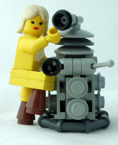The Confessions Of Who Lego Dalek With Legs