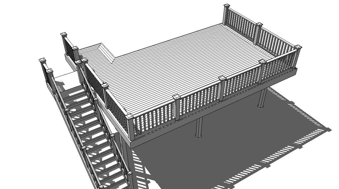 Sketchup plugins and blog deck for Sketchup deck design