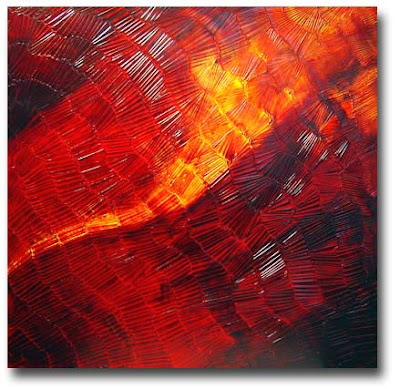Abstract painting - 'Sumatra'