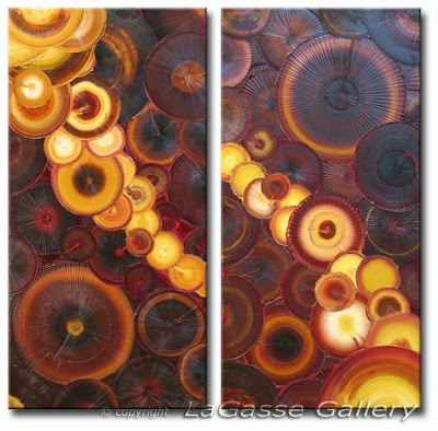 Absolut Brilliance - Abstract Textured Oil Painting