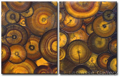 Fossil Texture Painting