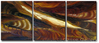 Abstract Art - Daily Painting - Canyon Strata