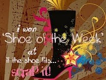 Yay, I won the challenge at 'If the Shoe Fits'!