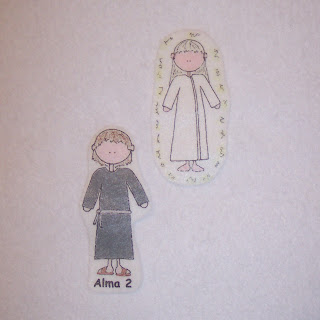 Also Included Are Two Fully Laminated Story Card 5x7Alma The Younger Sees An Angel And Sons Of Mosiah Crown